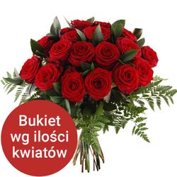 Bukiet 15 róż